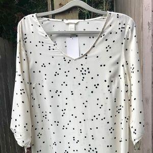 H&M women's White Short Dress!